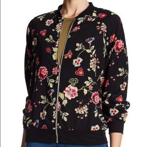 West Kei Floral Bomber